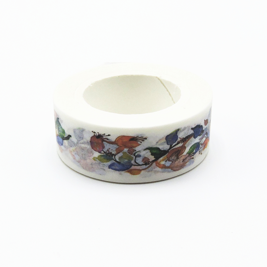 Ncolors Flower Printing Japanese Washi Tape Office Adhesive