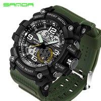 SANDA Sport Watch Men 2018 Clock Male Digital Quartz Wrist Watches Men S Top Brand Luxury