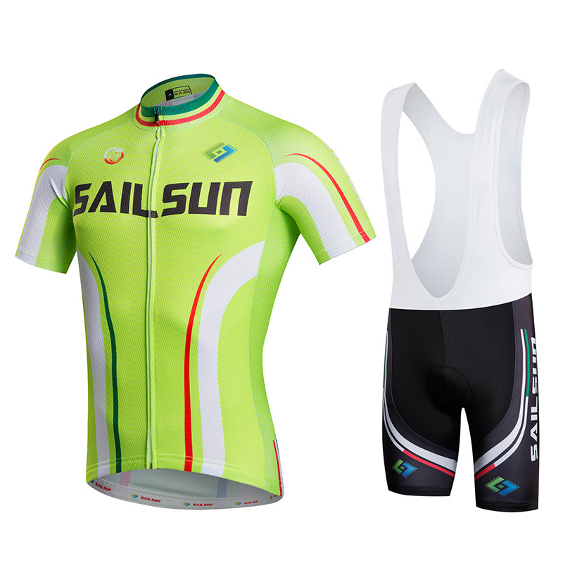 Sail Sun Pro Racing Cycling Jersey Bike Team Cycling Clothing Ropa Ciclismo Hombre MTB Bike Jersey Bicycle Clothes Maillot