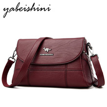 Women's bag  Flip cover over shoulder handbags women Messenger fashion female small tote sac a main leather Lady Crossbody Bag цена и фото