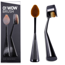 Professional CAILYN Brand New ToothBrush Shape Oval Makeup Brush Brushes Hair Kit with Cap MULTIPURPOSE Foundation Make Up Tool