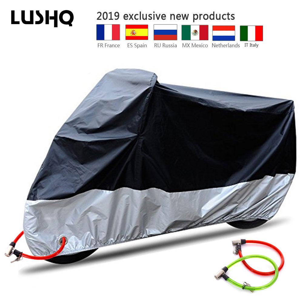 Motorcycle Cover Bike Cover Funda Moto Waterproof UV Protector Rain Cover For Honda 125 Goldwing 1800 Goldwing Gl1800 Cbr650f