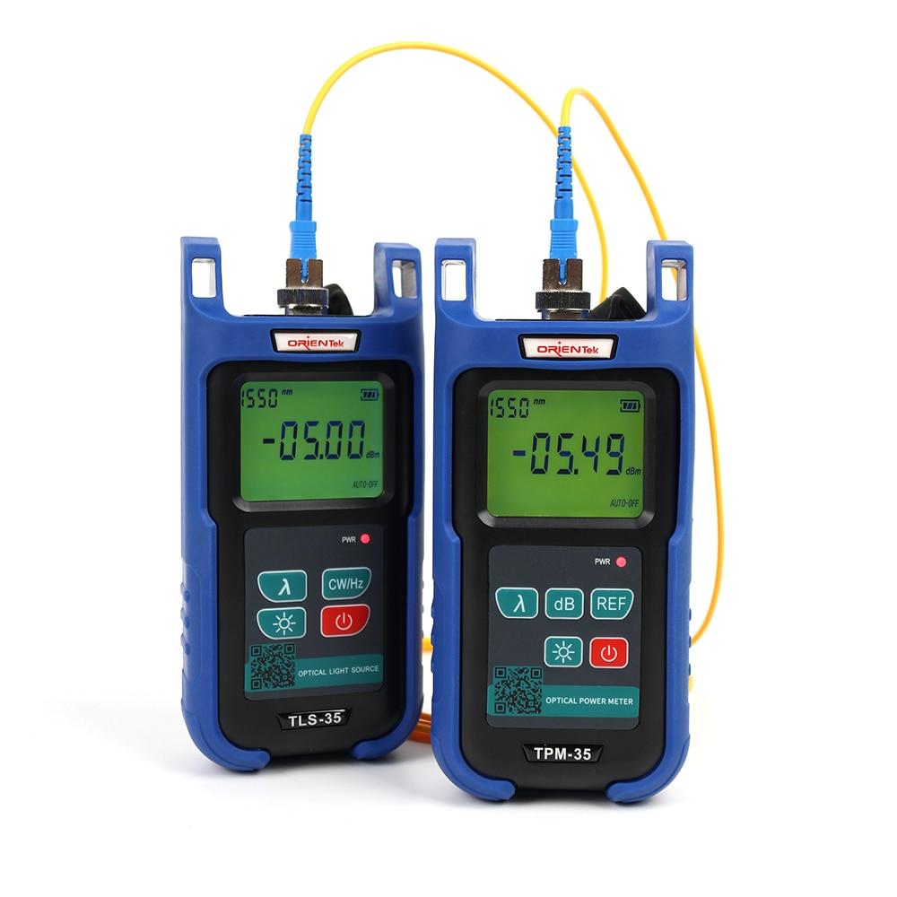 FTTH Optical TPM-35 Optical Power Meter + TLS-35 1310/1550nm Optical Light Source