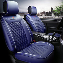 Universal PU Leather car seat cover for Audi A6L R8 Q3 Q5 Q7 S4 RS Quattro A1 A2 A3 A4 A5 A6 A7 A8 auto accessories car stickers(China)