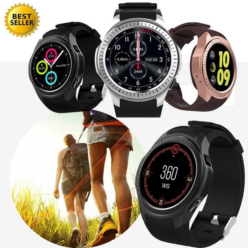Bluetooth Sports Smartwatch GPS Waterproof SIM TF Card Heart Rate Blood Pressure Monitor Reloj Deportivo Smart Watch Men