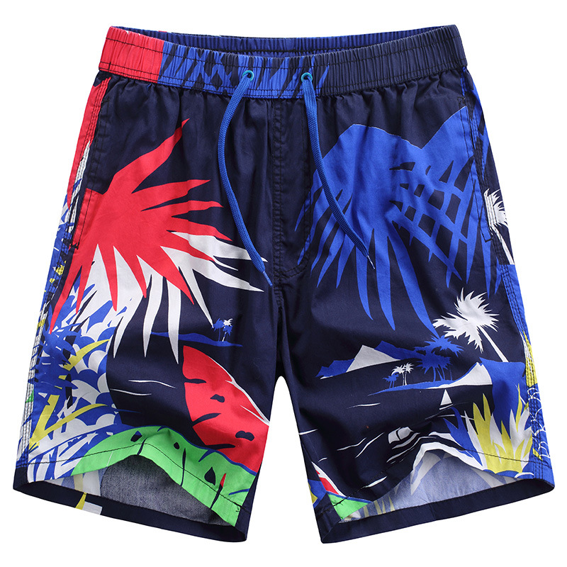 Free shipping men fashion printing quick dry beach   shorts   holiday leisure   board     shorts   766