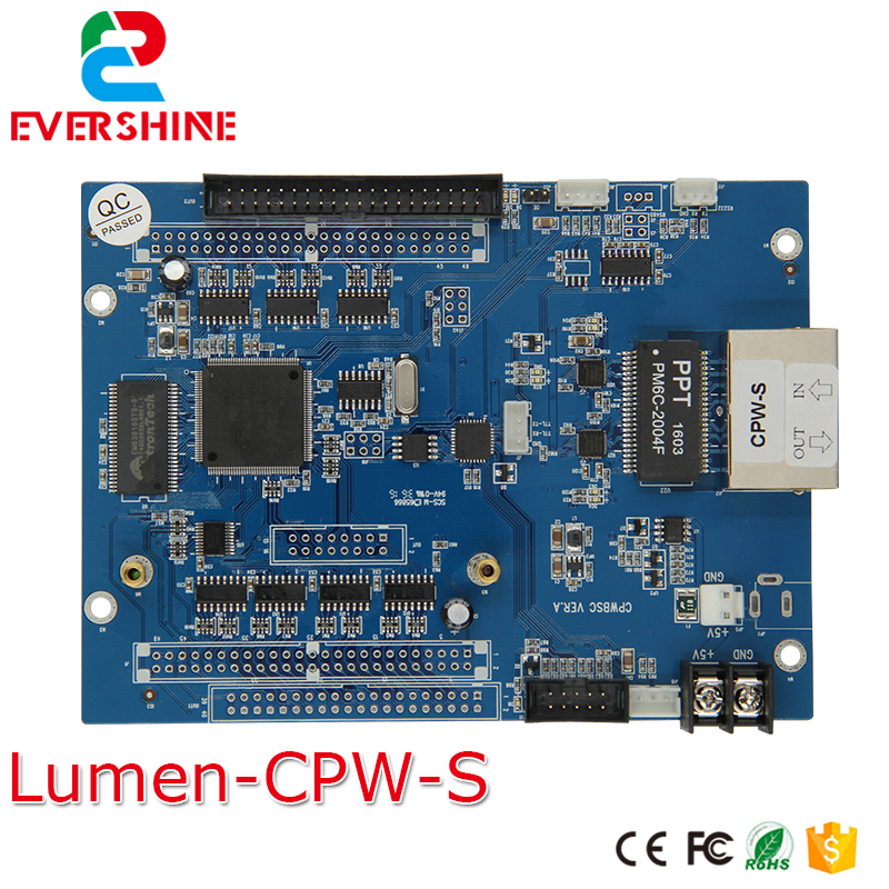 Lumen Asynchronous CPW S Cpower7200 Receiving Scan controller Card Lumen Card
