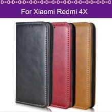 Lamocase принципиально чехол для Xiaomi Redmi 4X чехол для Hongmi 4X кошелек кожа флип чехол для Xiaomi Redmi 4×4 x Redmi4X Капа Coque