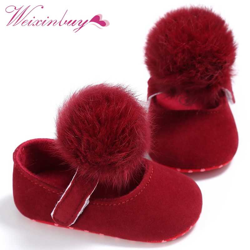 Lovely Cute Infant Baby Girl Shoes