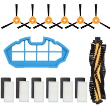 Accessory Kit For Deebot N79S & N79 Robotic Vacuum Cleaner - 1 Main Brush + 6 Filters Side Brushes