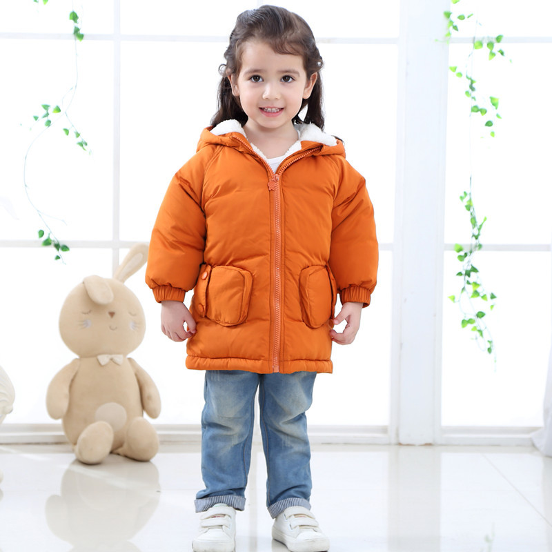 0c84147043e0 Kids Fleece Parkas Winter Coat Jackets 2018 Winter New Boys Girls ...