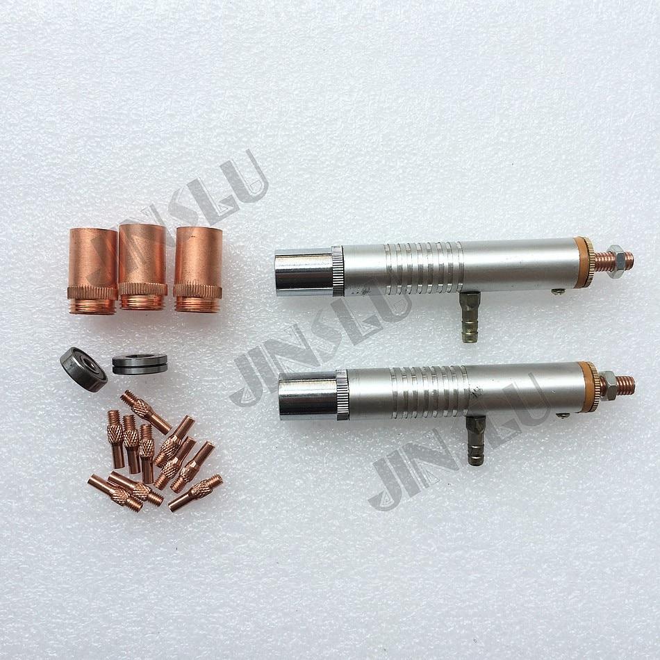 Spare Kit for MIG Spool Gun Push Pull Feeder Aluminum Steel Welding Torch Consumables  цены
