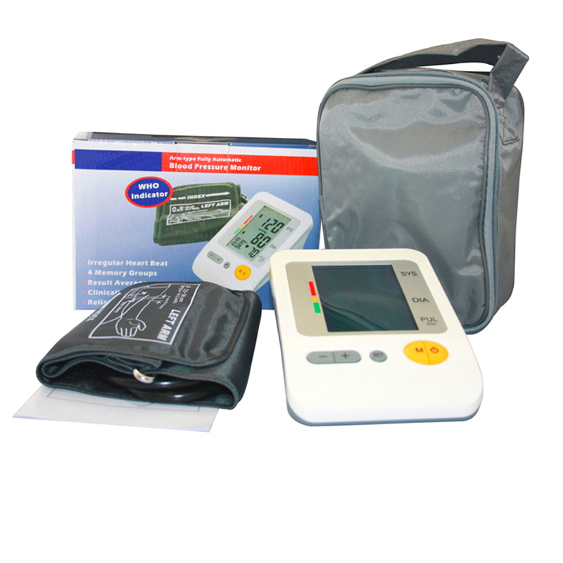 ФОТО Digital Portable Blood Pressure and Pulse Monitor Pulsometro Sphygmomanometer Blood Pressure Monitor Health Care Monitors