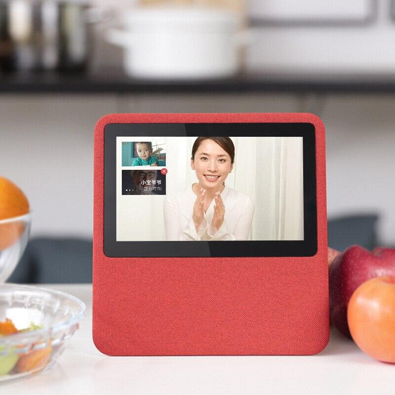 Bluetooth haut-parleur intelligent avec écran Portable sans fil haut-parleur système de son 3D stéréo musique Surround Support Bluetooth TF AUX USB