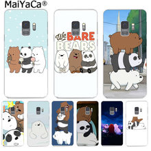 MaiYaCa we bare bears lovely cartoon Fashion Phone Case Cute Funny for Samsung S9 S9 plus S5 S6S6edge S6plus S7 S7edge S8 S8plus(China)
