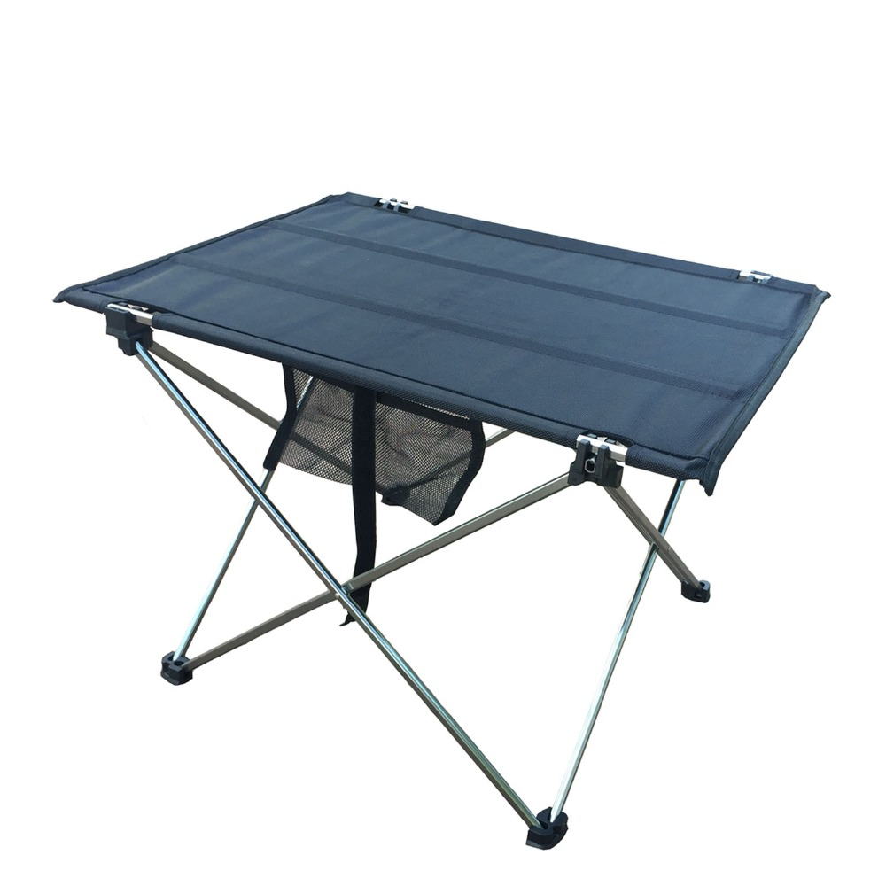 Outdoor Camping Table with Aluminium Alloy Picnic Table Waterproof - Furniture - Photo 2