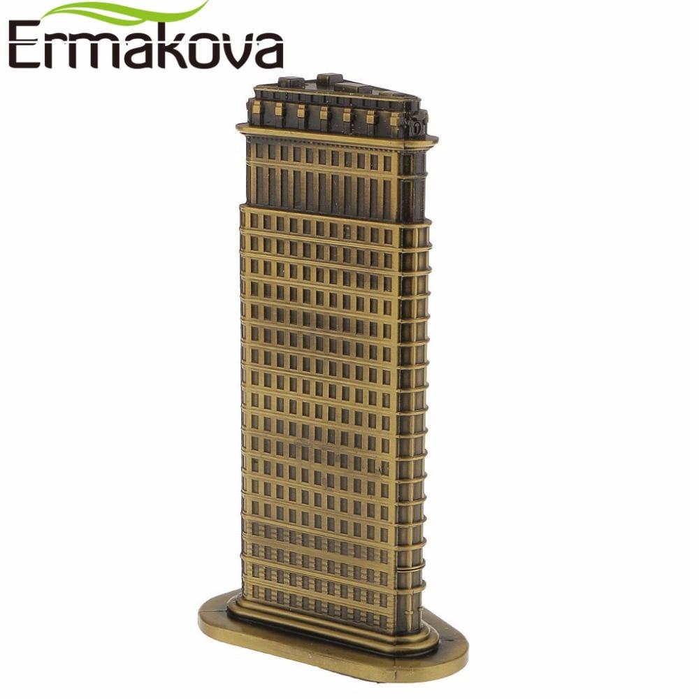 ERMAKOVA Bronx Antik, Modeli i Ndërtimit të Flatironit - Dekor në shtëpi - Foto 4