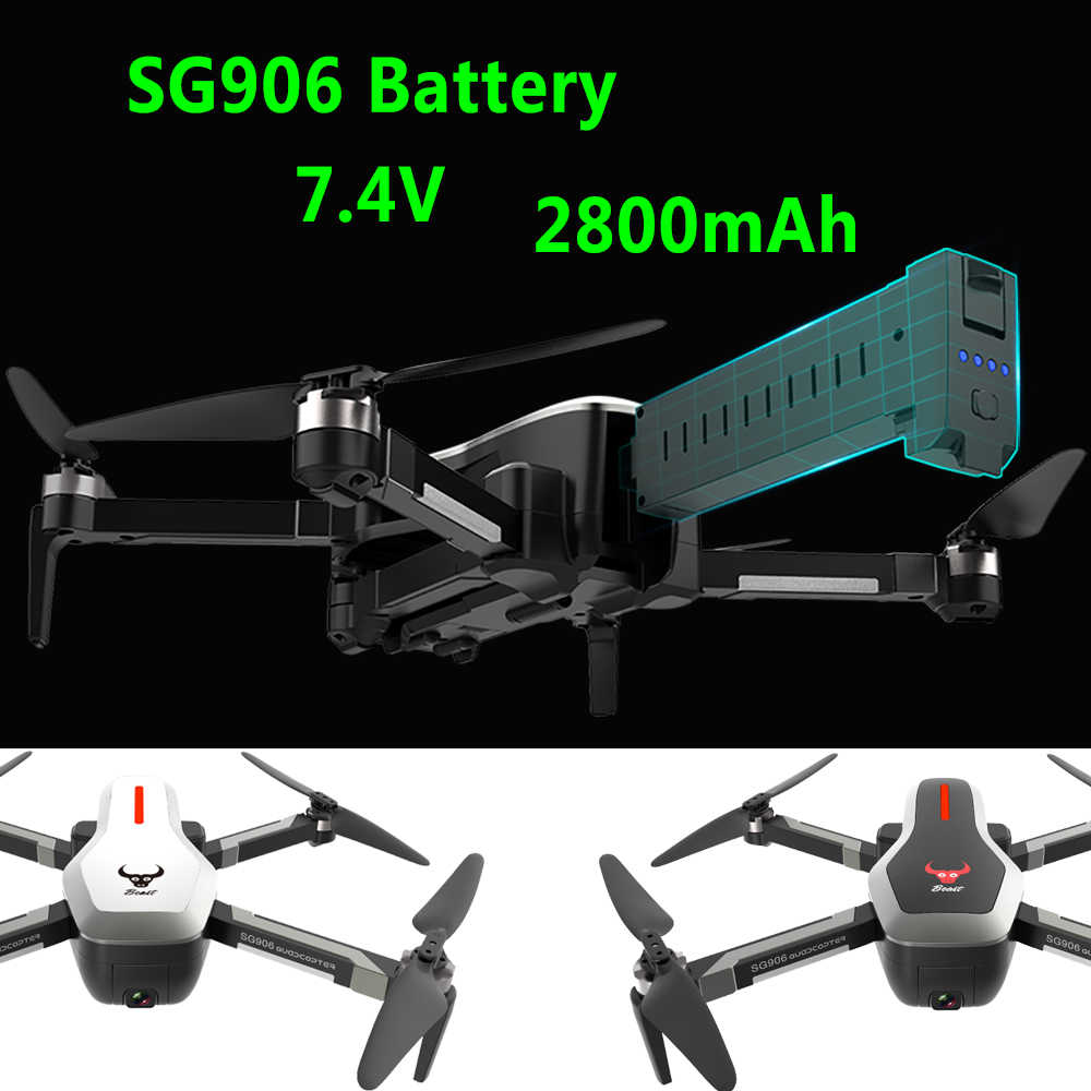 SG906 RC Quadcopter Drone Battery 7.4V 2800mAh Large capacity Spare battery Rc Helicopter Battery Remote control toy Accessories