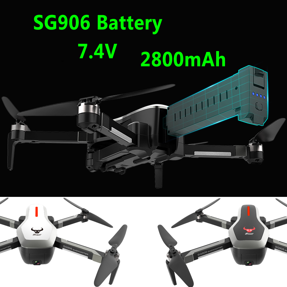 SG906 RC Quadcopter Drone Battery 7 4V 2800mAh Large capacity Spare battery  Rc Helicopter Battery Remote control toy Accessories