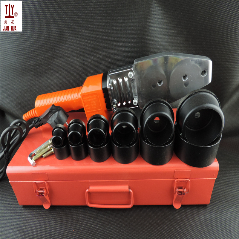 JH-PS63 device for welding of plastic pipes plumber tool ppr welder pipe welding machine free shipping plumber tool with 42mm cutter 220v 800wplastic water pipe welder heating ppr welding machine for plastic pipes
