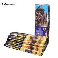 Meetcute 25 Pcs/Box Incense Imports Authentic Indian Incenses Tibetan Incense Sticks