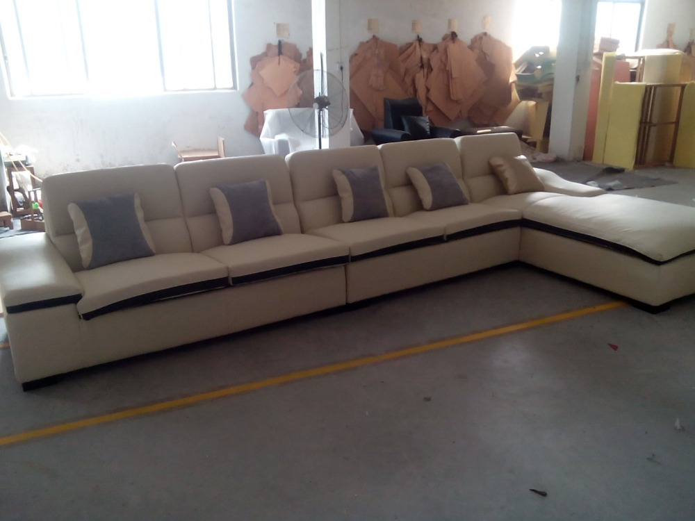 2015 Latest Sofa Design Modern Living Room Couch With ITALIAN Leather Designer Sectional