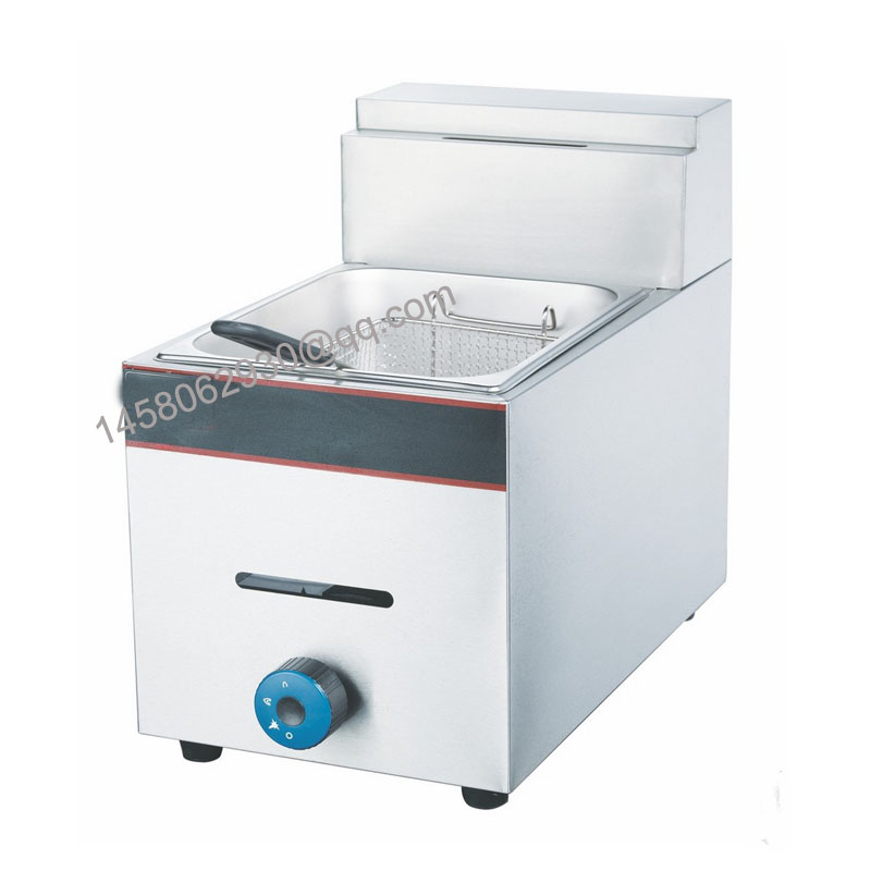6L gas deep fat fryer kfc deep fryer used gas deep fryer with CE approved