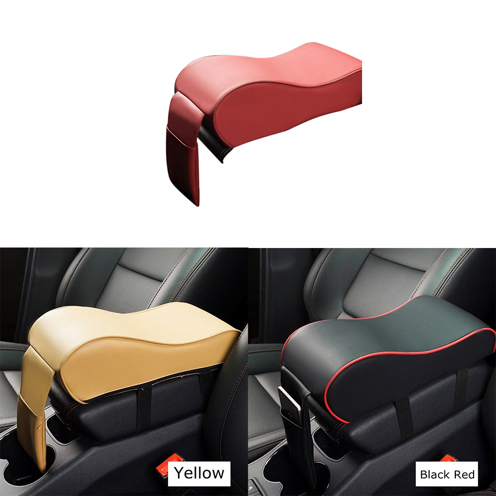 Almohadilla Universal para Reposabrazos de coche, almohadilla para consola de espuma con memoria de poliuretano, almohadilla para reposabrazos, alfombrilla protectora para asiento de vehículo, memoria de algodón