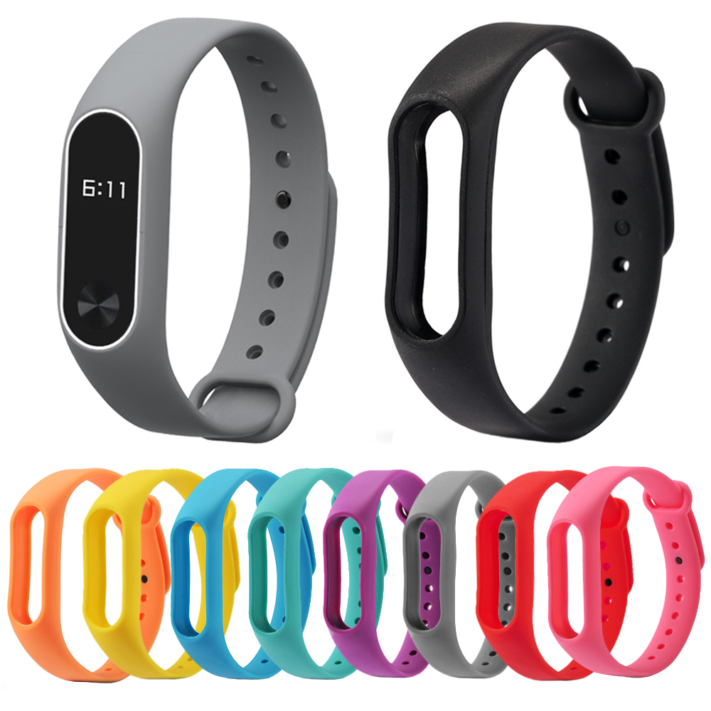 FORCA Colorful Silicone Wrist Strap Bracelet Replacement Watchband for Original Miband 2 Xiaomi Mi band 2 Wristbands все цены