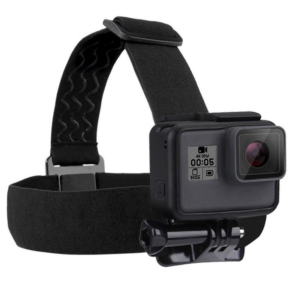 Bandeau étanche PULUZ pour GoPro Hero 5 4 Session 3 + 3 2 1 fixation bandeau élastique réglable accessoires Go Pro