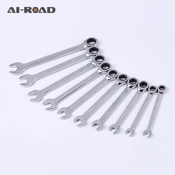 8-20mm Flexible Head Ratchet Spanner Combination Wrench A Set Of Keys Gear Ring Wrench Ratchet Handle Tools Car Repair set of spanner keys kraton bws 01