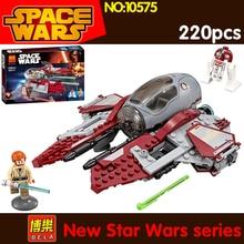 2018 220pcs Star Wars Obi Wan s Jedi Interceptor 75135 compatible lepin 05020 building models blocks