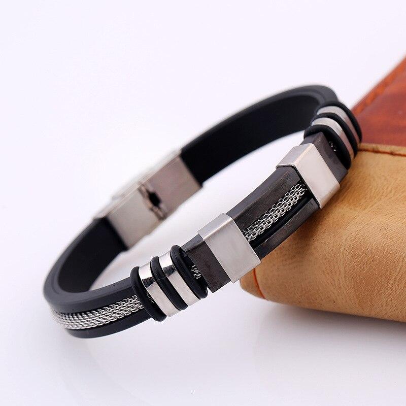Bracelet homme stainless steel