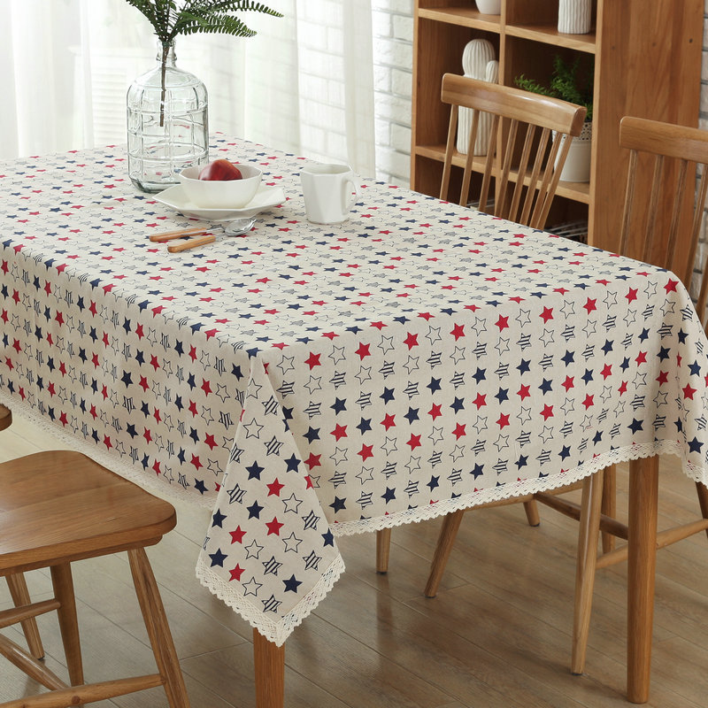 Dining Room Table Linens: Hot Sale Fashion Little Star Printed Tablecloth Dining