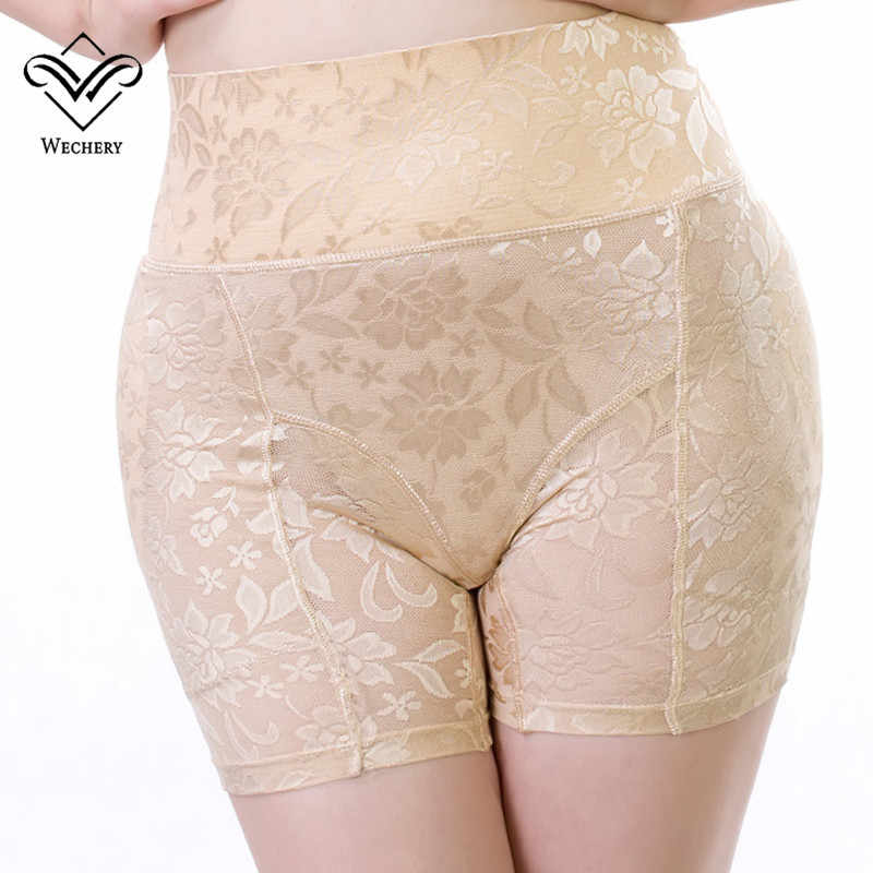 Wechery Control Pants Butt Lifter Seamless Slimming Underwear Control Panties Lifting Women High Waist Trainer Butt Enchancer