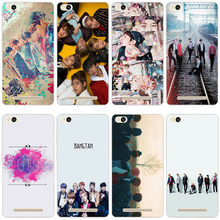 49GV Bts Bangtan Boys Kpop Korean Hard Transparent Cover Case for Xiaomi Redmi 3 3S 3Pro 4 4a 4pro Note 3 4 4x 4pro Mi5 mi a1(China)