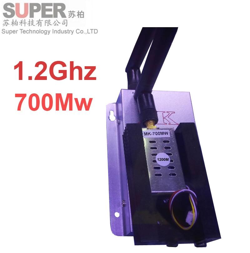 ФОТО 700mw FPV sender 1.2Ghz transceiver 4ch cctv accessories 1200mhz CCTV transmitter 1.2Ghz Transmitter Receiver FPV transmitter
