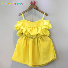 babzapleume 2017 New Summer Style Kids Clothes For Baby Girls Dress Princess Toddler Dresses Fashion Children Clothing BC1033