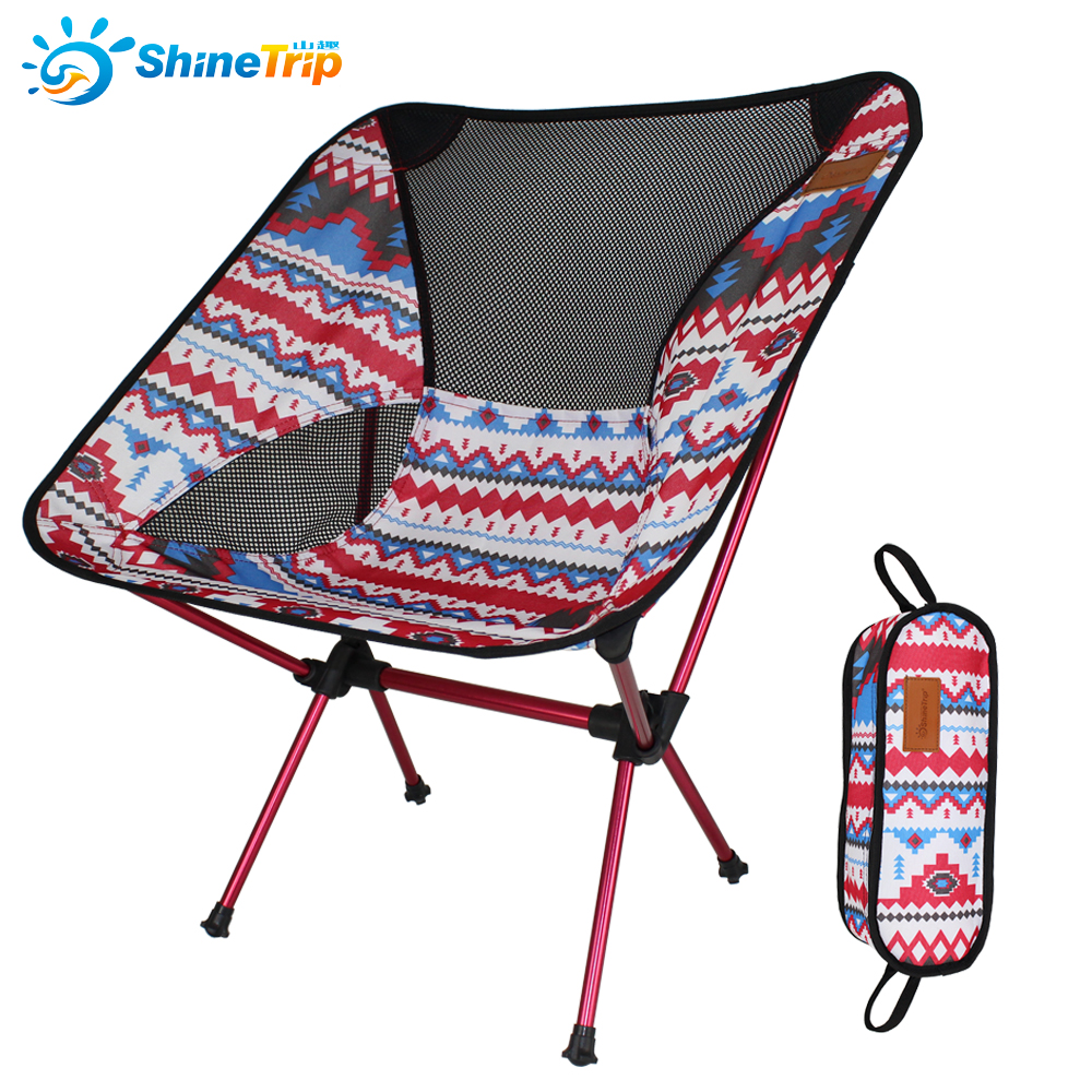 Shinetrip A162 Outdoor Portable Folding Chair Seat Folding Stool For Fishing Camping Picnic Garden BBQ Beach