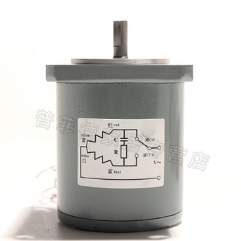 55TDY115-1 Permanent Magnet Low Speed Synchronous Motor, 115RPM 16W Permanent Magnet Motor, AC Motor 220V