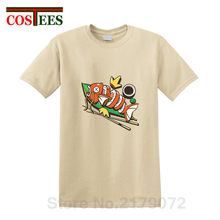 dbd5aecf05888d 2019 New arrival Funny design Tee Japan style Sushikarp T shirt men  delicious Japanese food sushi