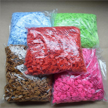 1000pcs Hang Tag String Snap Lock Fastener square end small jewelry Labeling Tagging Supplies
