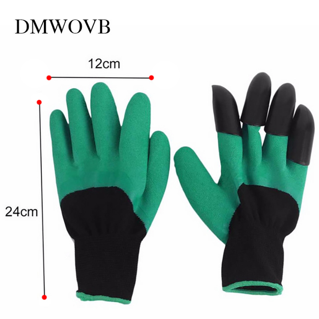 New Garden Gloves 8 ABS Plastic Claws for Garden Excavation Planting 2