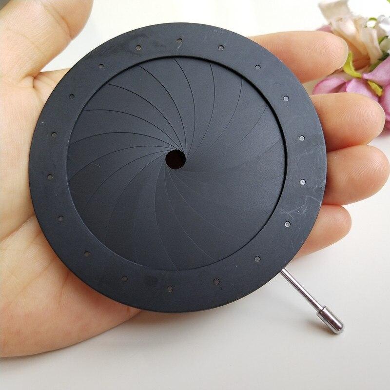 Adapter, Optical, Adjustable, pcs, Diaphragm, Microscope