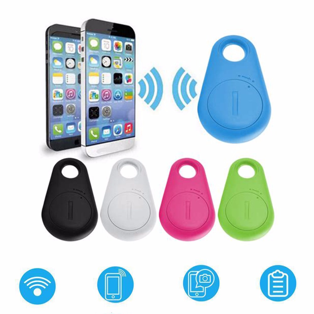 Bluetooth smart anti-lost alarm självutlösare anti-stöld larm mobiltelefon Bluetooth 4.0 anti-lost alarm tvåvägs larm