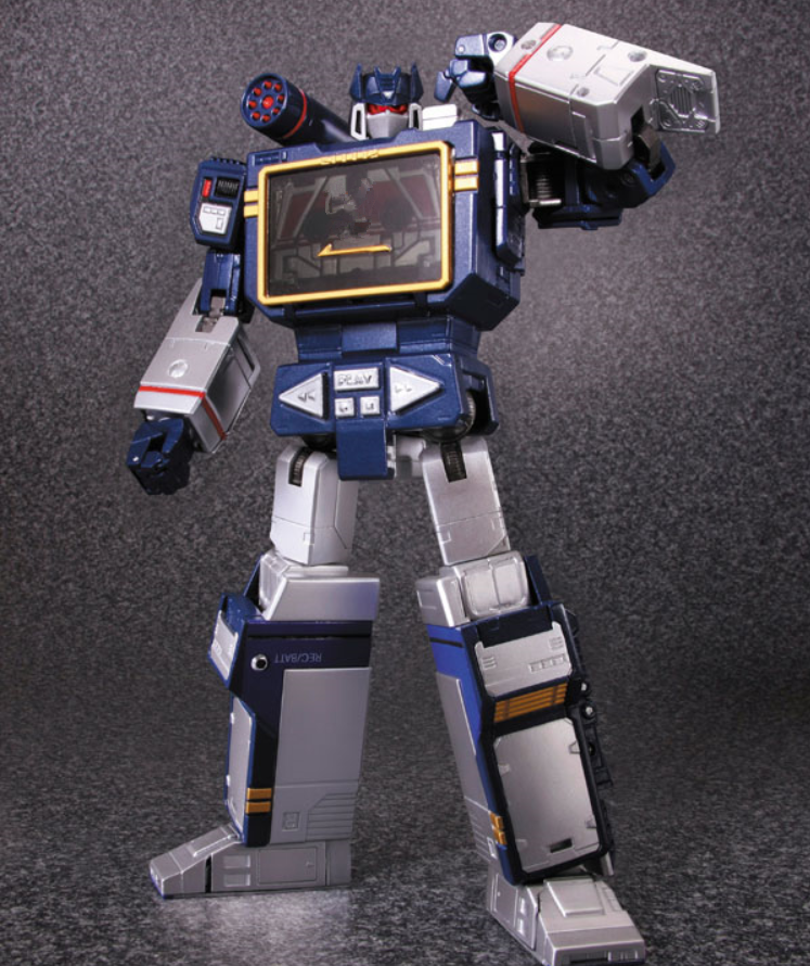 New arrival robot Soundwave MP-13 MP13 Transformation KO Masterpiece Action Figure viruses cell transformation and cancer 5