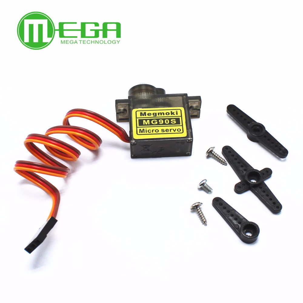 1pcs MG90S Metal gear Digital Servo For Rc Helicopter plane boat car MG90(China)