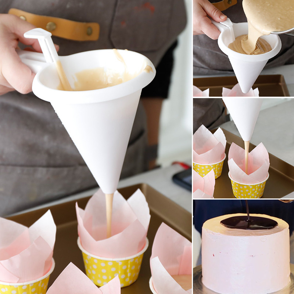 2018 New Fashion New Arrival Adjustable Chocolate Funnel for Baking Cake Decorating Tools Kitchen With High Quality Hot Sale #30