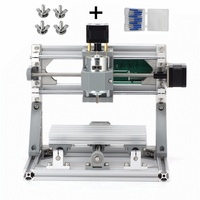 Disassembled Pack Mini CNC 1610 With 500MW 2500mw Laser CNC Engraving Machine Pcb Milling Wood Carving