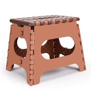 Image 2 - Super Strong Anti slip Bathroom Stool The lightweight foldable step stool is sturdy enough to support adults & safe for kids